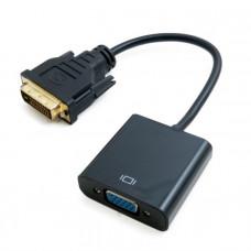 Адаптер Extradigital DVI-D Dual Link (Male)-VGA (Female), 0.15 m